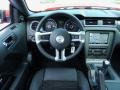 2014 Ford Mustang California Special Charcoal Black/Miko Suede Interior Dashboard Photo