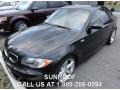 Black Sapphire Metallic 2008 BMW 1 Series 135i Coupe