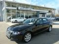 Brilliant Black 2010 Audi A4 2.0T quattro Sedan