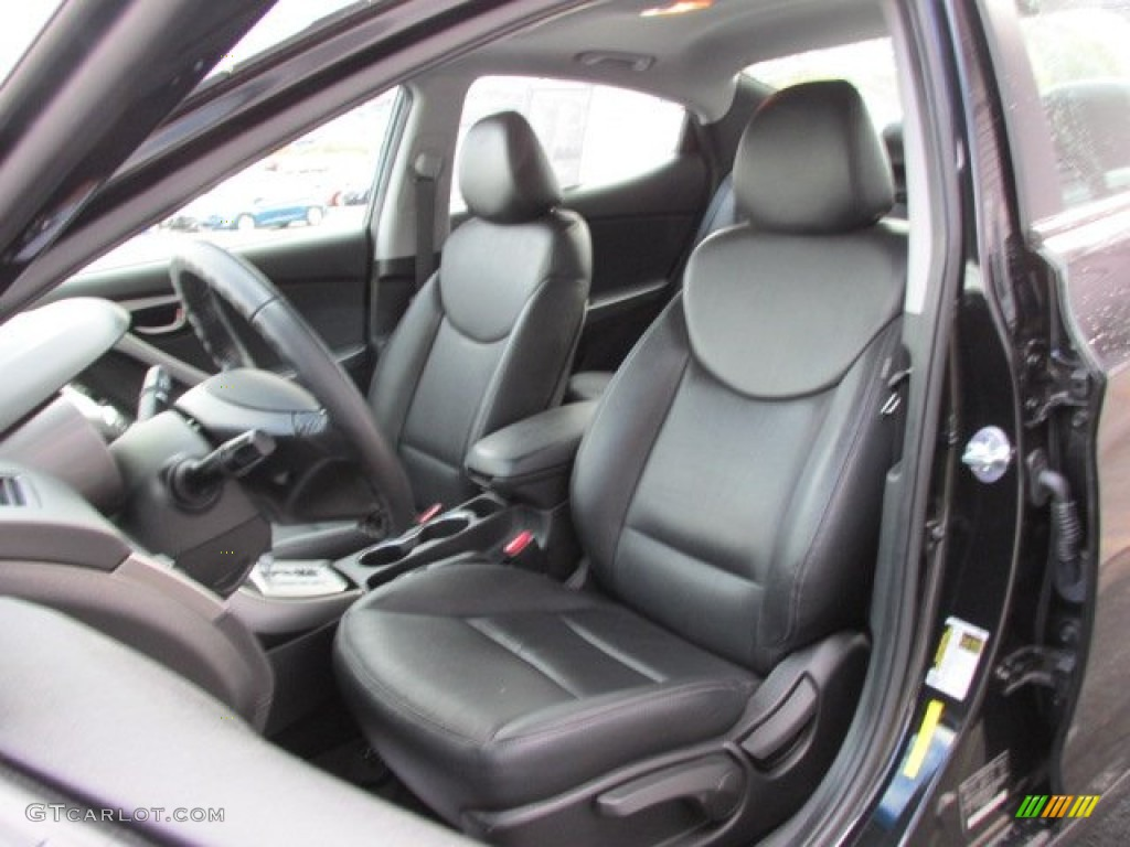 2012 Hyundai Elantra Limited Interior Color Photos
