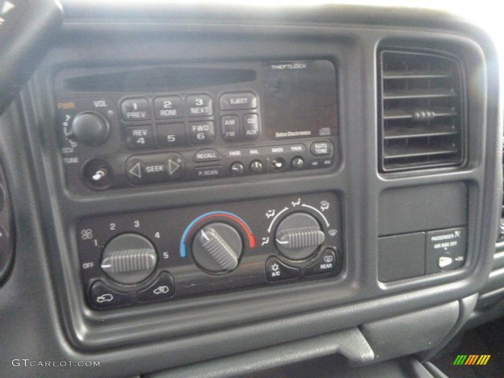2002 Silverado 1500 LT Extended Cab 4x4 - Onyx Black / Graphite Gray photo #13