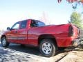 2006 Victory Red Chevrolet Silverado 1500 LS Extended Cab  photo #2