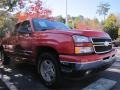 2006 Victory Red Chevrolet Silverado 1500 LS Extended Cab  photo #4