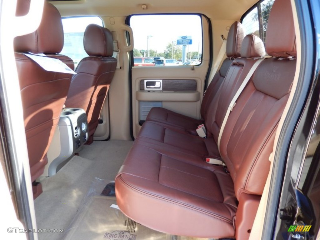 2013 Ford F150 King Ranch Supercrew 4x4 Interior Color Photos