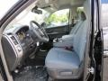 Black/Diesel Gray Front Seat Photo for 2014 Ram 1500 #87741636
