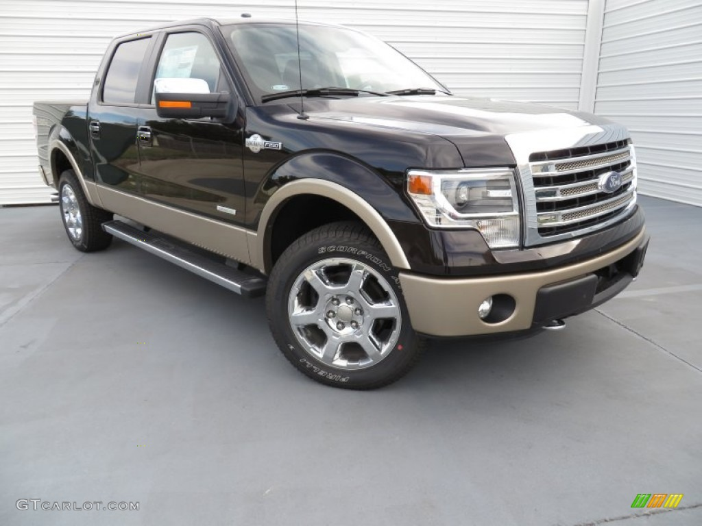 2013 kodiak brown metallic ford f150 king ranch supercrew 4x4 87714229 car. Black Bedroom Furniture Sets. Home Design Ideas