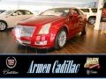 Red Obsession Tintcoat 2014 Cadillac CTS 4 Coupe AWD