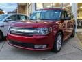 Ruby Red Metallic 2013 Ford Flex SEL