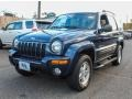 Patriot Blue Pearlcoat 2002 Jeep Liberty Limited 4x4