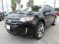 Tuxedo Black Metallic 2013 Ford Edge Sport AWD