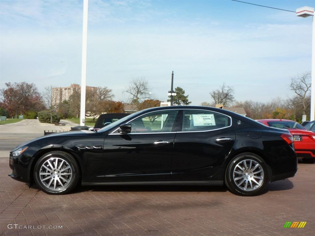 Nero Black 2014 Maserati Ghibli S Q4 Exterior Photo 87785594