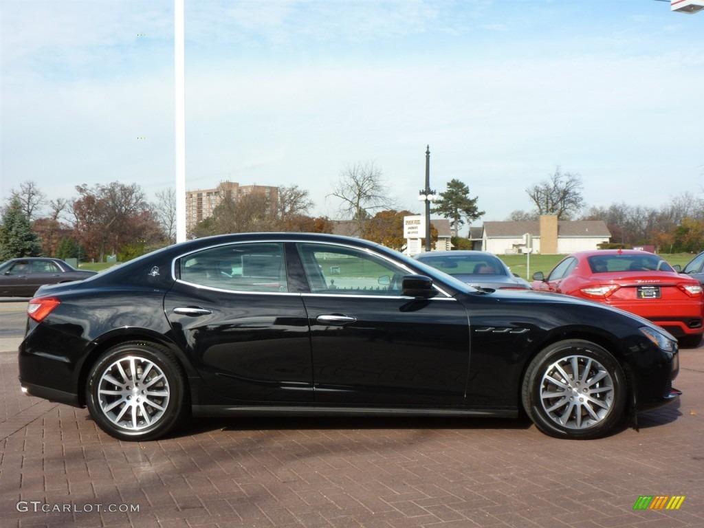 Nero Black 2014 Maserati Ghibli S Q4 Exterior Photo 87785852
