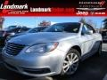 Bright Silver Metallic 2011 Chrysler 200 Touring Convertible