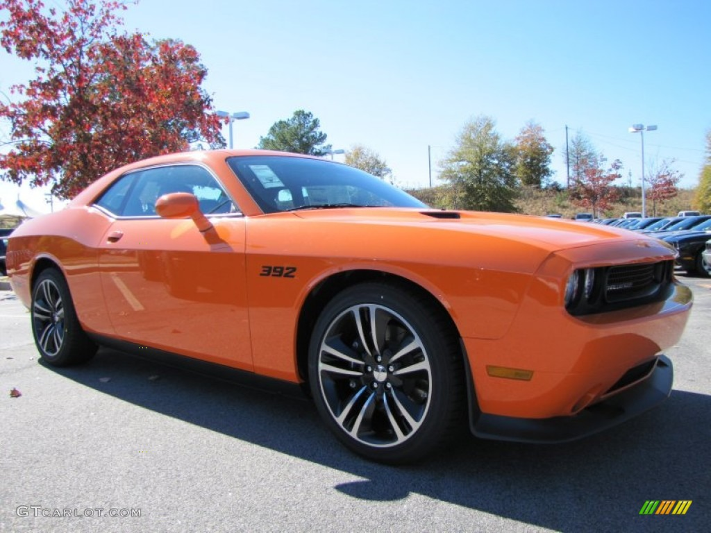 Header Orange 2014 Dodge Challenger Srt8 Core Exterior Photo 87792892 Gtcarlot Com