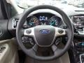 2014 White Platinum Ford Escape Titanium 1.6L EcoBoost  photo #18