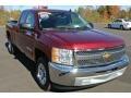 2013 Deep Ruby Metallic Chevrolet Silverado 1500 LT Extended Cab  photo #1