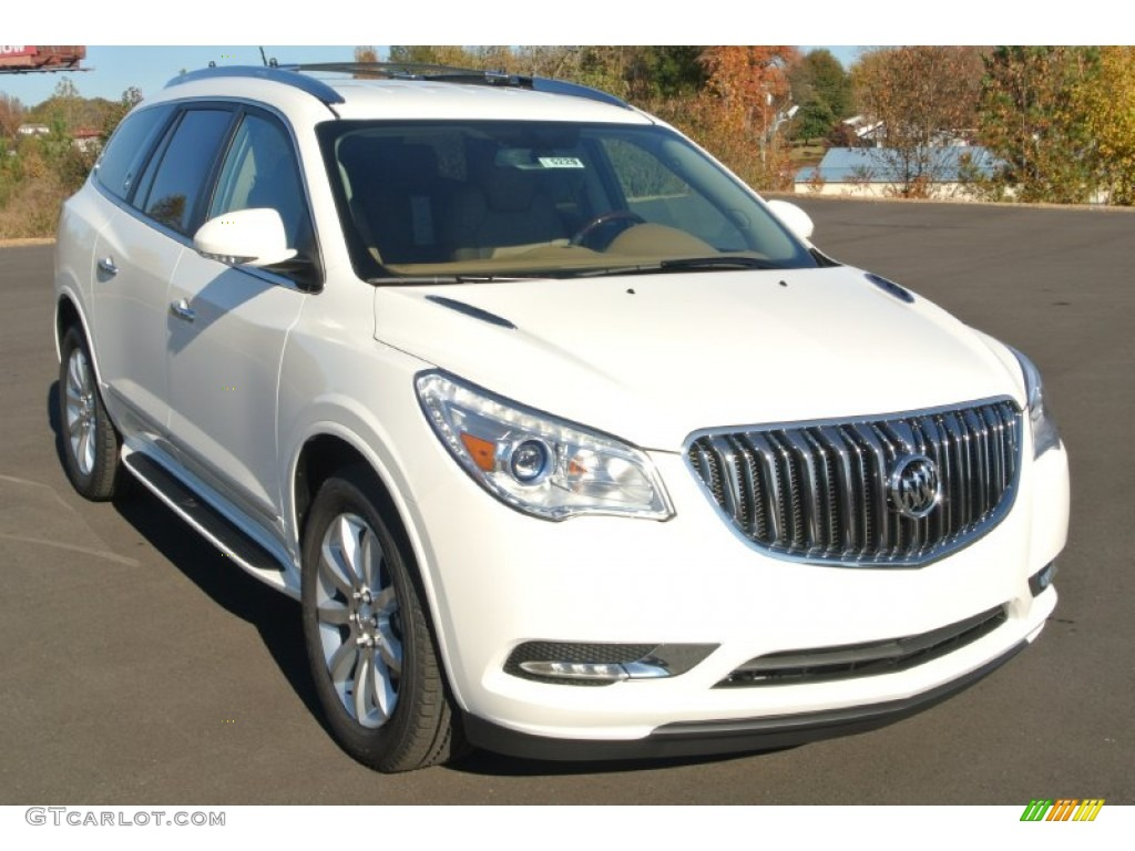 2014 white opal buick enclave leather 87822326 car color galleries for 2014 buick enclave interior colors