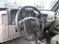 Khaki Steering Wheel Photo for 2006 Jeep Wrangler #87847001
