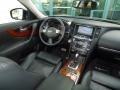 2009 Infiniti FX Graphite Interior Dashboard Photo