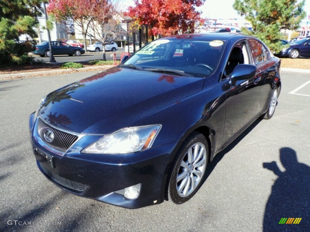 2006 blue onyx pearl lexus is 250 awd 87822194 gtcarlot. Black Bedroom Furniture Sets. Home Design Ideas