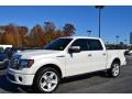 White Platinum Metallic Tri-Coat - F150 Limited SuperCrew Photo No. 3