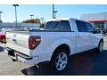 White Platinum Metallic Tri-Coat - F150 Limited SuperCrew Photo No. 4