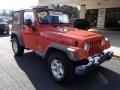 Impact Orange 2005 Jeep Wrangler Gallery