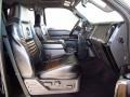 2008 Ford F250 Super Duty Black/Dusted Copper Interior Front Seat Photo