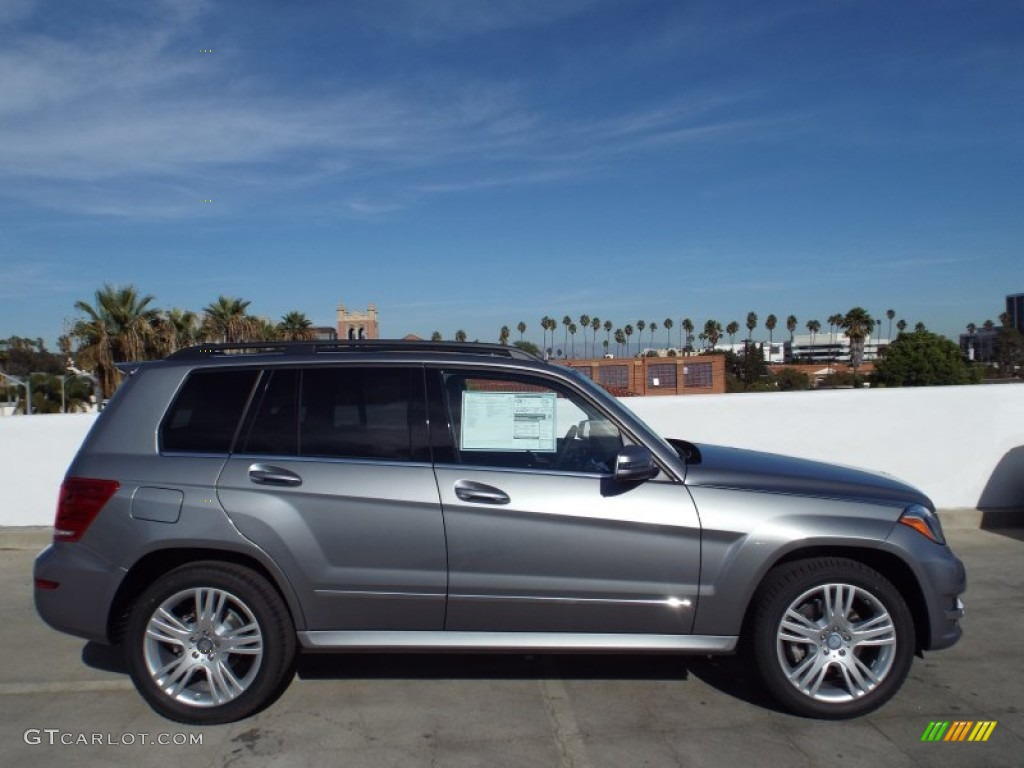 Palladium silver metallic 2014 mercedes benz glk 250 for Mercedes benz silver