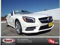 Diamond White Metallic 2014 Mercedes-Benz SL 550 Roadster