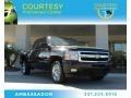 2009 Black Granite Metallic Chevrolet Silverado 1500 LTZ Crew Cab 4x4 #87865147