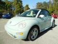 Aquarius Blue 2004 Volkswagen New Beetle GLS 1.8T Convertible