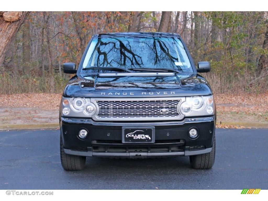 2007 Range Rover Supercharged - Java Black Pearl / Jet Black photo #2