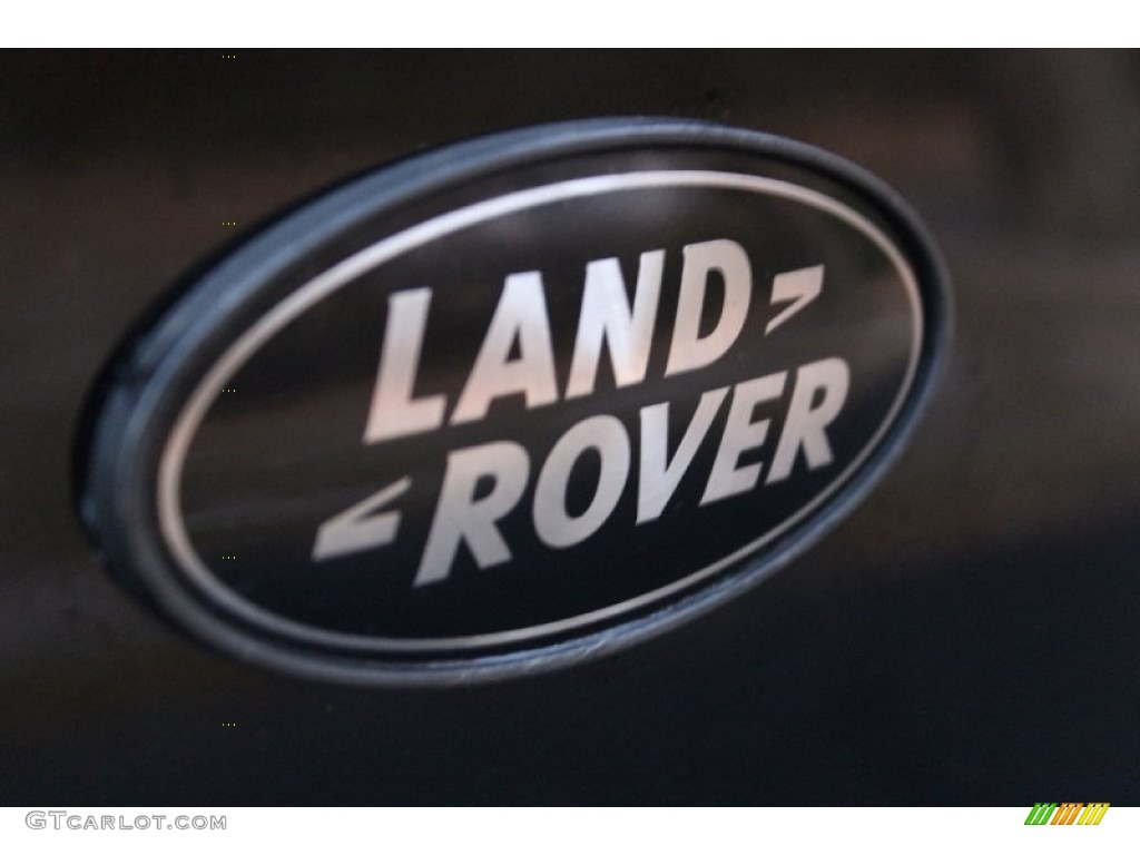 2007 Range Rover Supercharged - Java Black Pearl / Jet Black photo #13