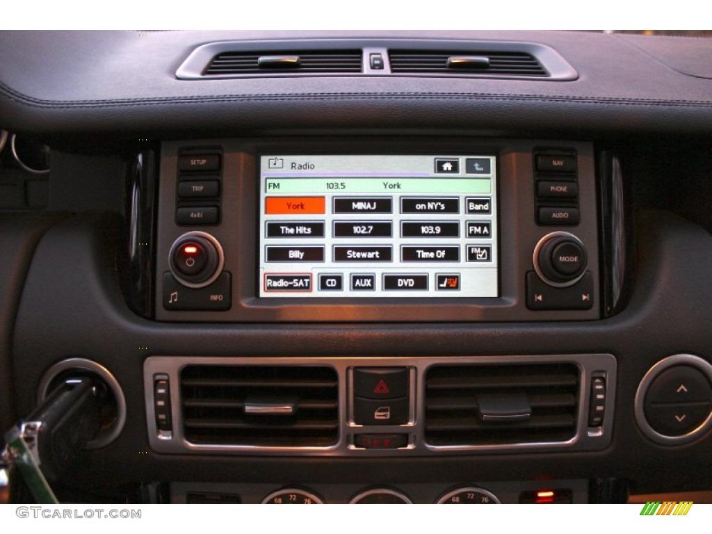 2007 Range Rover Supercharged - Java Black Pearl / Jet Black photo #20
