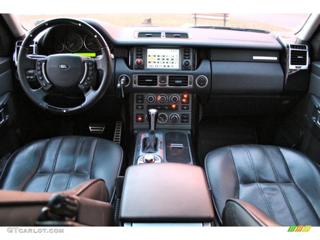 2007 Range Rover Supercharged - Java Black Pearl / Jet Black photo #25