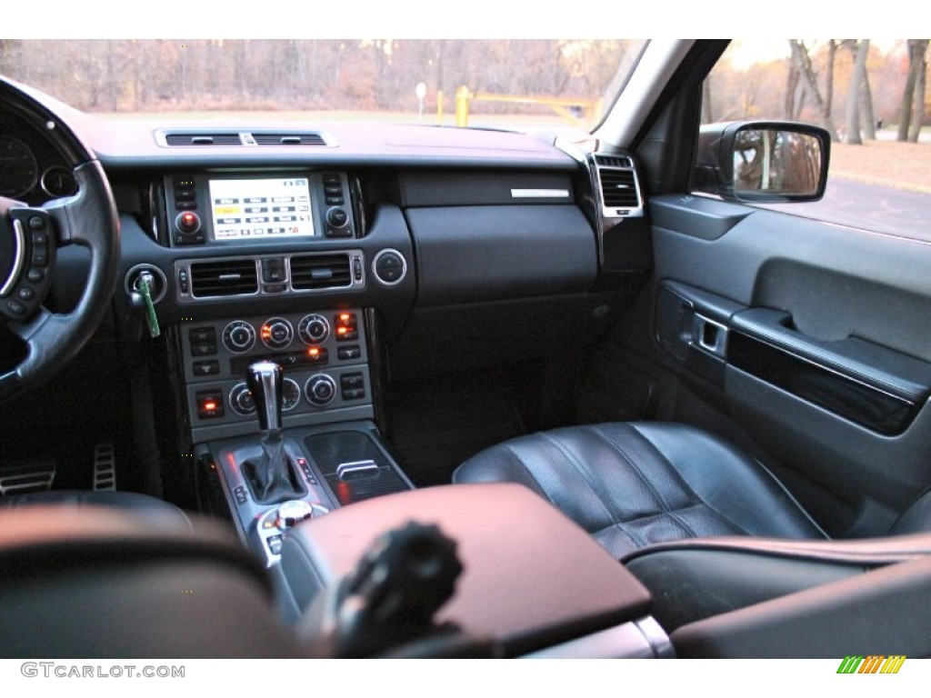 2007 Range Rover Supercharged - Java Black Pearl / Jet Black photo #27