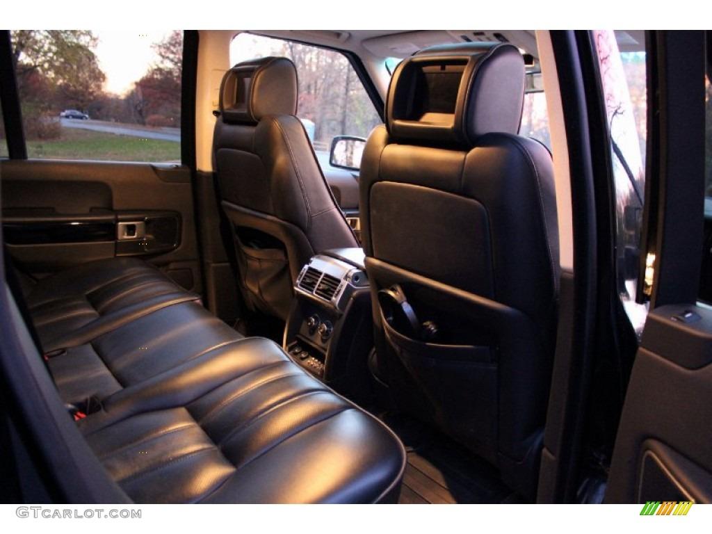 2007 Range Rover Supercharged - Java Black Pearl / Jet Black photo #34