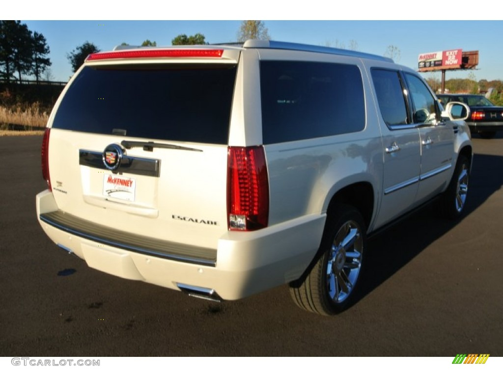 2014 white diamond tricoat cadillac escalade esv the html for Kuehn motors rochester mn