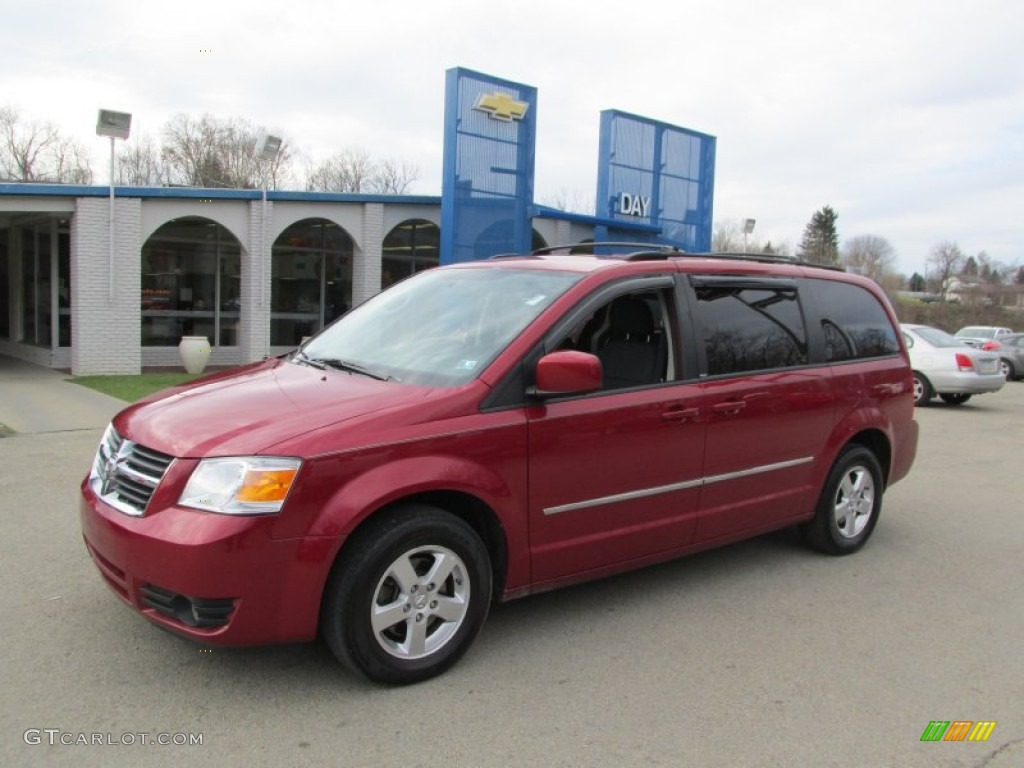 2010 Deep Cherry Red Crystal Pearl Dodge Grand Caravan Sxt 87957792