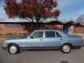 1986 S Class 420 SEL Diamond Blue Metallic