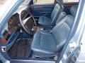 1986 S Class 420 SEL Blue Interior