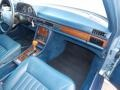 Dashboard of 1986 S Class 420 SEL