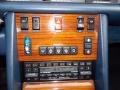 Controls of 1986 S Class 420 SEL