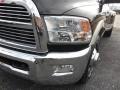 2010 Brilliant Black Crystal Pearl Dodge Ram 3500 Laramie Crew Cab Dually  photo #4