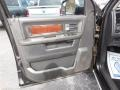 2010 Brilliant Black Crystal Pearl Dodge Ram 3500 Laramie Crew Cab Dually  photo #12