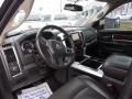 2010 Brilliant Black Crystal Pearl Dodge Ram 3500 Laramie Crew Cab Dually  photo #13