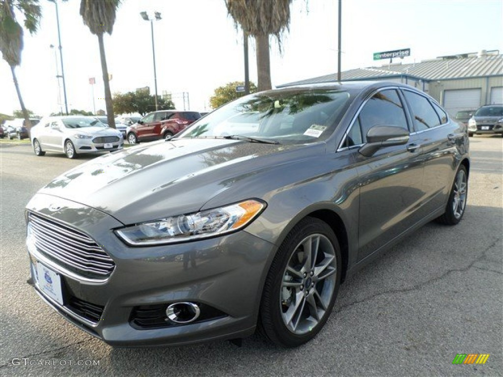 Sterling Gray Ford Fusion