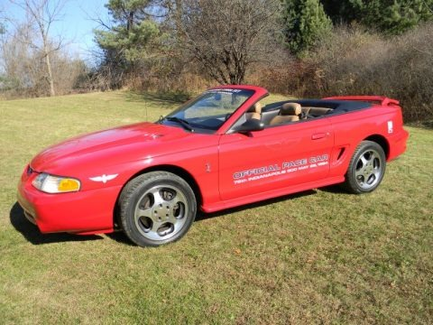1994 Ford Mustang Cobra Convertible Data, Info and Specs