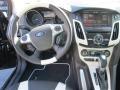 2012 Tuxedo Black Metallic Ford Focus Titanium Sedan  photo #11